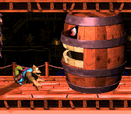 Belcha in Donkey Kong Country 3: Dixie Kong's Double Trouble!
