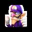 Waluigi's CSP icon from Mario Sports Superstars
