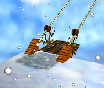 The skilift is one of many modes of transportation.