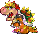 Bowser from Paper Mario: Sticker Star