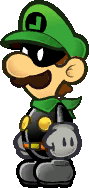 Sprite of Mr. L in Super Paper Mario.