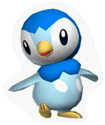 A Sticker of Piplup.