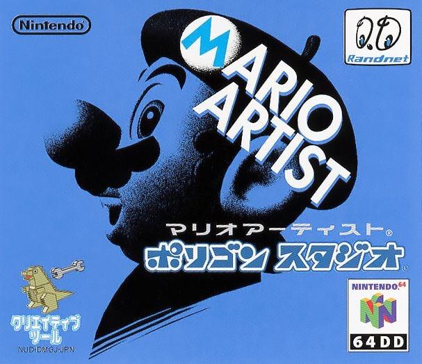 The front cover of Mario Artist: Polygon Studio