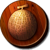 The Melon Kingdom's icon from Donkey Kong Jungle Beat