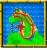 Crescent Island course icon from Diddy Kong Racing DS.