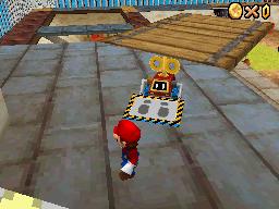 Heave-Ho chasing Mario