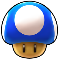 Mini Mushroom from Mario Kart Arcade GP DX.