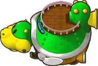 Sprite of the Koopa Cruiser from Mario & Luigi: Partners in Time