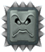 A Thwomp from New Super Mario Bros. Wii.