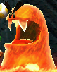 A Red Blargg from Yoshi's New Island