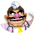 Icon of Dr. Wario from Dr. Mario World