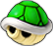 A sprite of a Setback Shell from Mario Party: Island Tour
