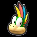 Lemmy's head icon in Mario Kart 8