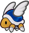 Parabuzzy from Paper Mario: The Thousand-Year Door.