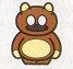 Artwork of a Tanooki Suit from the Super Mario All-Stars manual.