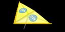 Yellow Mii's Super Glider in Mario Kart 7