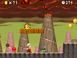 World 8-8 in the game New Super Mario Bros..