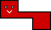 Sprite of a Longadile from Super Paper Mario.