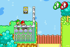 Hidden Block location in Beanbean Outskirts, in Mario & Luigi: Superstar Saga (revealed).