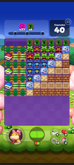 Stage 546 from Dr. Mario World