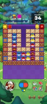 Stage 987 from Dr. Mario World