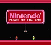 Main menu Family Computer Disk System