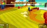 Hole 8 of Mountain Course in Mario Golf: World Tour