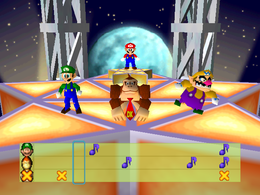Move to the Music from Mario Party 2
