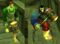 Larion and Muigin, appearances of the bros. in World of Warcraft.