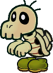 A Dull Bones from Paper Mario: The Thousand-Year Door.