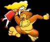 Donkey Kong & Lady spirit from Super Smash Bros. Ultimate.