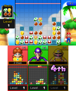 Three House from Mario Party: Island Tour