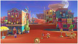 Tostarena Town in Super Mario Odyssey.