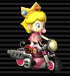 Baby Peach's Bit Bike