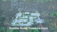 Domino Ruins Treasure Hunt Board