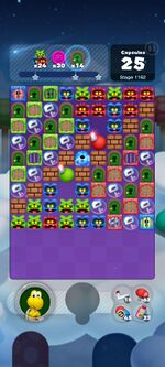 Stage 1162 from Dr. Mario World