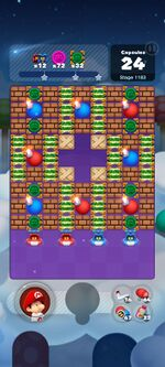 Stage 1183 from Dr. Mario World