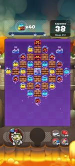 Stage 412 from Dr. Mario World
