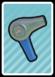 A Hair Dryer Card in Paper Mario: Color Splash.