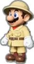 Mario's Explorer Outfit icon in Mario Kart Live: Home Circuit