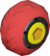 The SmallR_Red tires from Mario Kart Tour