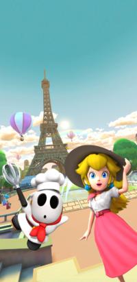 2019 Paris Tour introduction splash screen