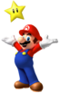 Artwork of Mario from Mario Party 9