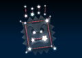 Thwomp's constellation in the game Mario Party 9.