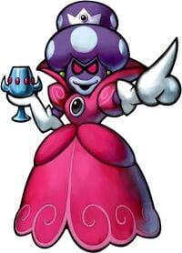 Artwork of Princess Shroob from Mario & Luigi: Partners in Time