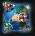 Mario-Kart Global Wi-Fi connection render.