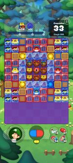 Stage 998 from Dr. Mario World