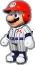 Mario's Baseball Uniform icon in Mario Kart Live: Home Circuit
