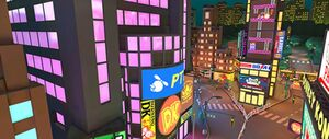 View of New York Minute 4 in Mario Kart Tour
