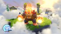 Molten Bowser in Skylanders: SuperChargers